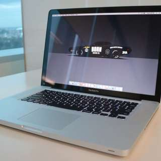 Macbook Pro 15 inch Mid 2009 MC118