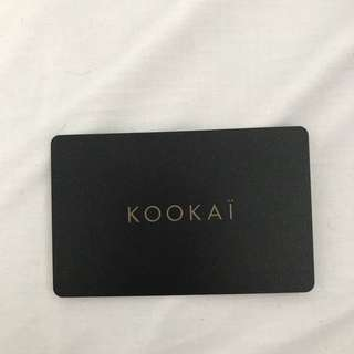 Kookaï gift card / voucher for $180