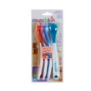 Brand New Munchkin White Hot Safety Spoons (4s)