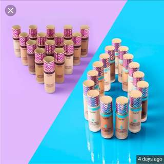 TARTE shape tape foundation and preorder