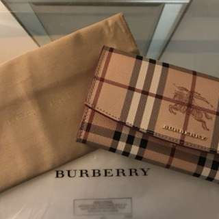 Burberry wallet and card case