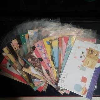 全新 貓貓 明信片 卡片 留言卡 postcard 30張