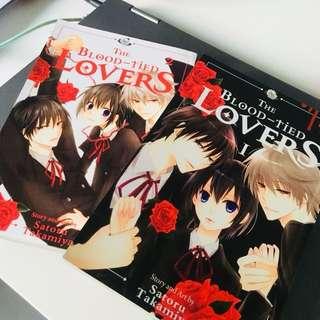 The Blood-Tied Lovers Manga/Comic/Book