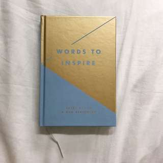 BN Kikki K - words to inspire