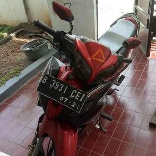 Dijual cepat motor manual Jupiter Z tahun 2011, bisa NEGO