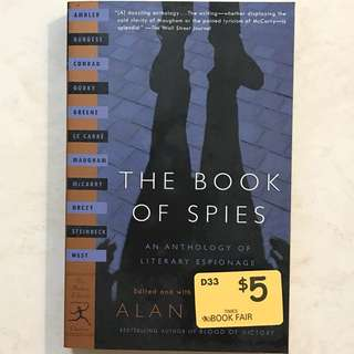 The Book of Spies by Alan Furst