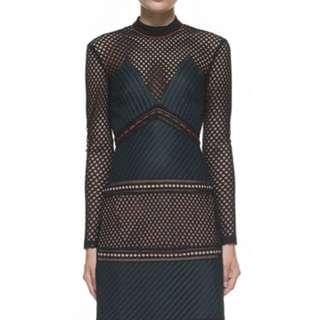 Self portrait lace dress size 4