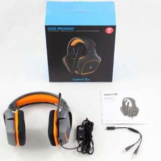 [BNIB] Logitech g231 prodigy headset