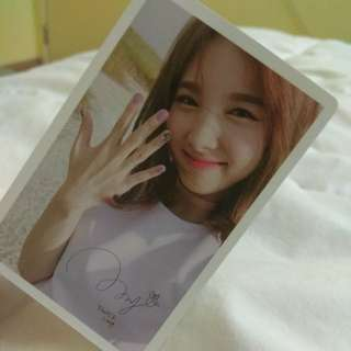 TWICE COASTER LANE 1 NAYEON PHOTOCARD