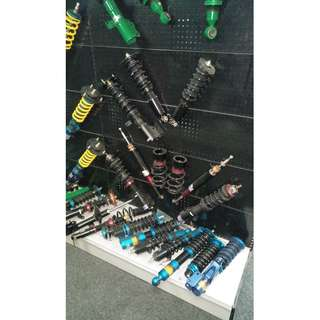 SHOCK ABSORBER   - SUSPENSION BAR @ CAR SERVICE