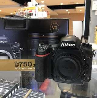 Nikon D750 Body SC:35k