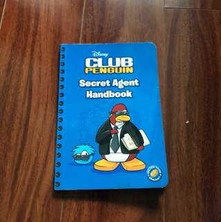 Disney Club Penguin -Secret Agent Handbook-