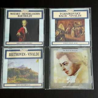 Classical CD 1 for $3 buy 4 for $10