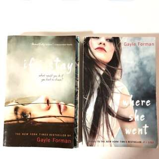 if i stay/where she went by Gayle Forman