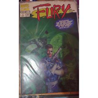 Pre-owned Comic Book - Fury No. 1