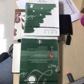Starbucks Planner (green, large)