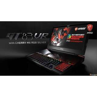 MSI GT83 VR 7RF Laptop