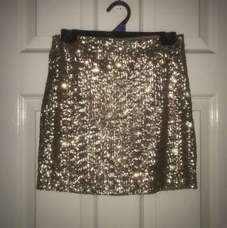 Sparkly Mini Skirt