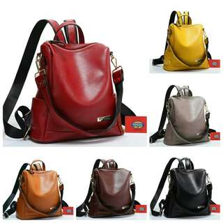 FOSSIL BACK PACK MULTY FUNGSI