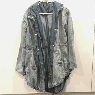 Stussy denim jacket