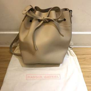 Mansur Gavriel Mini Bucket Bag Calf