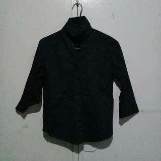 G200 3/4 Black Polo