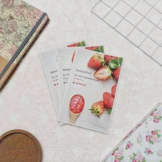 [3 Available] Innisfree It's real squeeze mask