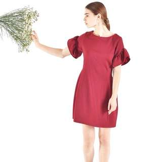Dress Neira Maroon