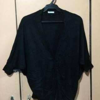 Black stretch Cardigan