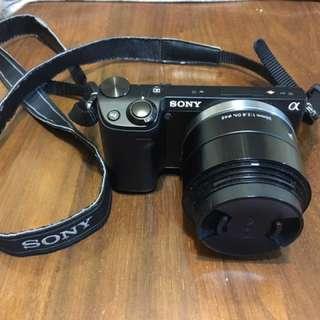 Sony nex-5r 8成新搭sigma30mmf2.8鏡頭