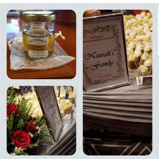 Yemen honey for wedding favours