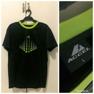 ACCEL neon green and black