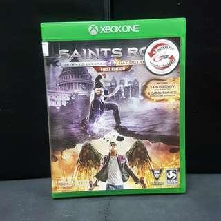 XBOX ONE Saints Row IV (Used Game)