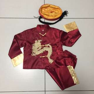 Chinese Costume with Hat