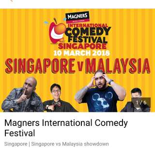 Magners International Comedy Fest