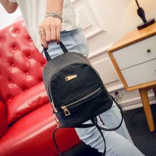 Mini Leather backpack
