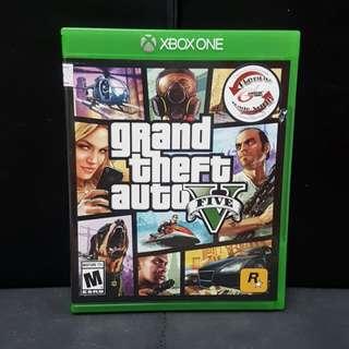 XBOX ONE Grand Theft Auto V GTA V (Used Game)