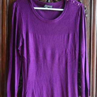 Forever 21 Purple Sweater