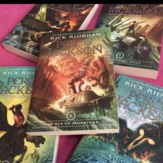 PERCY JACKSON BOOK SET (5 Books)