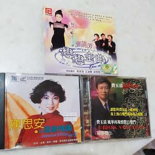 VCD MTV/karaoke. $3 each. $6 for 3.