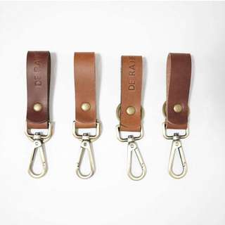 Keychain with ring and hook
