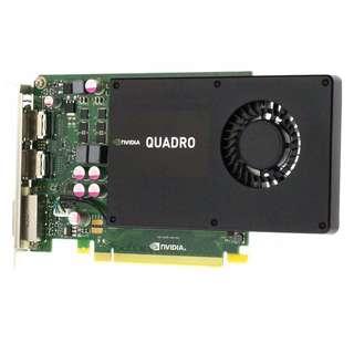 (二手) Leadtek Nvidia Quadro K2000 2GB DDR5 PCIE 2.0 98% New
