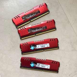 G.SKILL Ripjaws Z Series 16GB (4 x 4GB) RAM