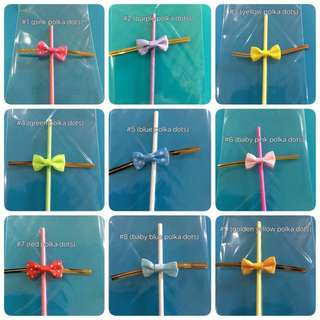 Lollipop Sticks With Matching Ribbon 🎀 Twist Tie And Wrapper