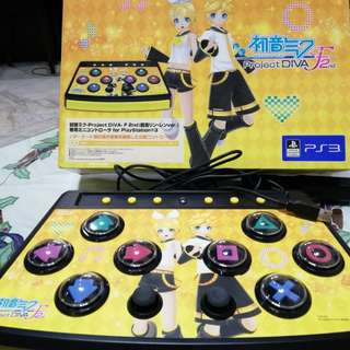 Project Diva F2nd PS3 Hori Controller