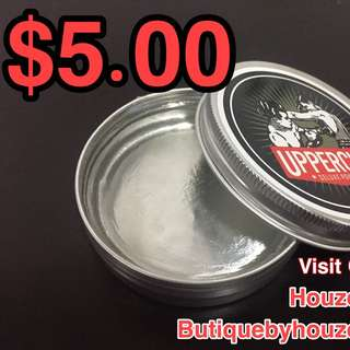 PROMO - Uppercut Hair Wax Pomade