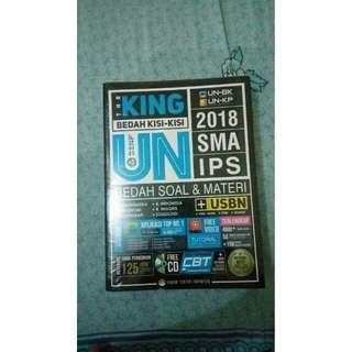 Buku UN The King SMA IPS 2018