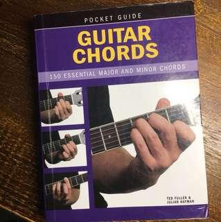 Pocket guide Guitar Chords book