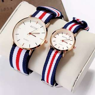 Couple watch $50 each!! 2 colors!!❤️情侶手錶