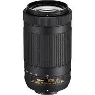 AF-P Nikon 70 - 300mm 1:4.5-6.3 ED (VR)